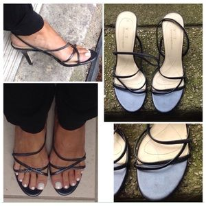 Vintage Strappy Heel Sandals